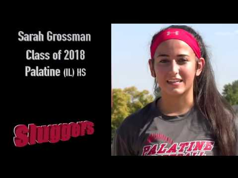 Sarah Grossman 2018 Pitcher Illinois Sluggers Youtube