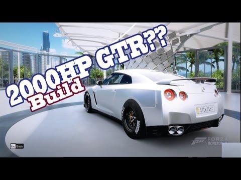 Forza Horizon 3 Mods: 2000HP GTR BUILD!!!