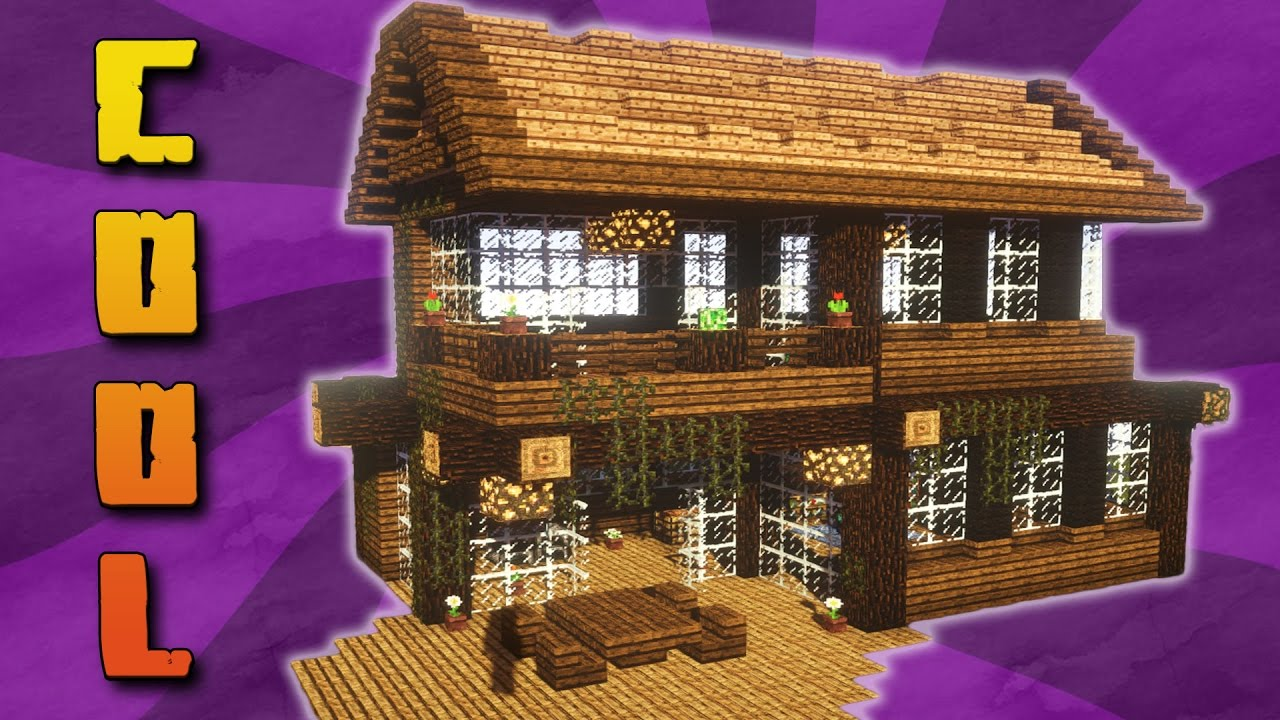 Mit download haus ideen minecraft holzhaus bauen youtube