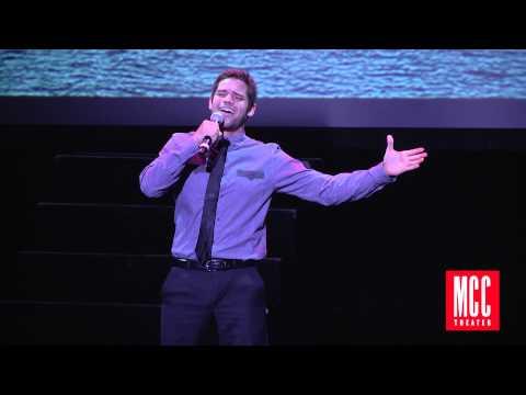 Jeremy Jordan sings