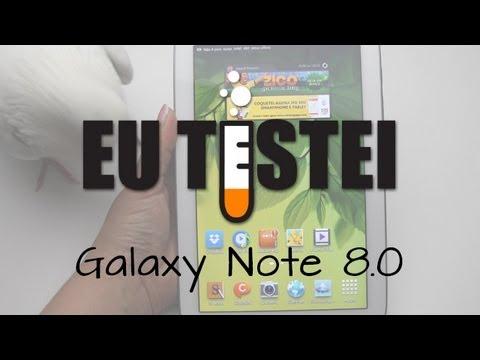 Tablet Samsung Galaxy Note 8.0 N5100 / N5110 - Resenha Brasil