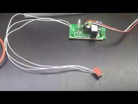 TTP223 sensor switch with Itead Sonoff (ESP8266)