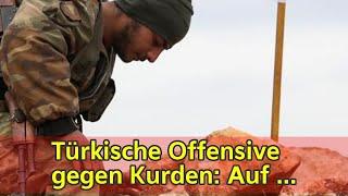 Türkische Offensive gegen Kurden: Auf Luftangriffe folgen Bodentruppen   tagesschau.de