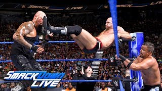 Gallows & Anderson vs. The Bar vs. The Colons - Triple Threat Match: SmackDown LIVE, Aug. 28, 2018