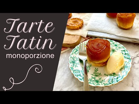 Tarte Tatin monoporzione #shorts