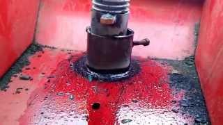 Гребнеобразователь Grimme доработанный для размотки капельной ленты