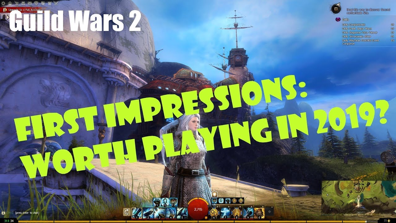 [Guild Wars 2] First Impressions: Worth Playing in 2019?
