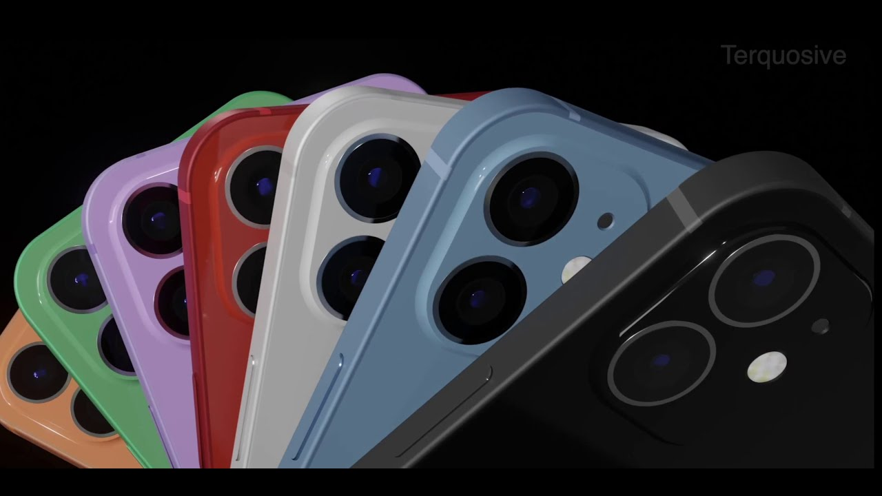 iPhone 12 and iPhone 12 Max - Most Accurate Concept video