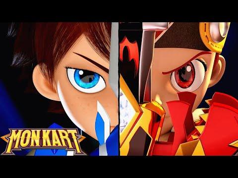 🐲 Monkart - Tập 34 Siêu Nhân Robot Biến Hình | Ô tô hoạt hình vui nhộn | Hoạt hình Siêu Nhân Rô Bốt