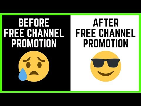 Promote Your YouTube Channel Here For Free