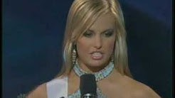 Miss Teen USA 2007 - South Carolina answers a question