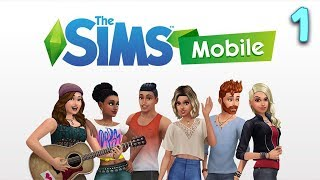 The Sims Mobile - NEW BEGINNING | Sims Mobile Ep.1