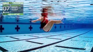 Aqua Sphere Swim - Aqua X Training - Core Belt - Crunch with Shoot Thrusts