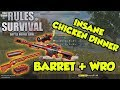 BARRETT + WRO = CHICKEN DINNER | TAGALOG (Rules of Survival: Battle Royale #4)