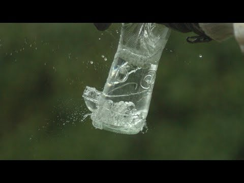Beer Bottle Trick at 2500fps - The Slow Mo Guys