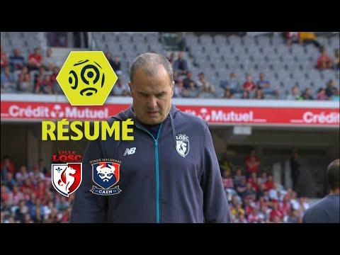LOSC - SM Caen (0-2)  - Résumé - (LOSC - SMC) / 2017-18