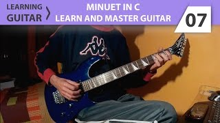 Learning Guitar | Minuet in C - Steve Krenz Gibson's Learn and Master Guitar