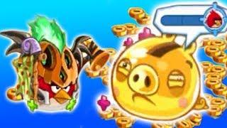 Angry Birds Epic - GOLDEN CLOUD CASTLE (Use Pumpkin Paladin Class)