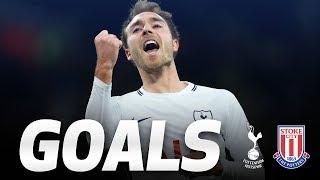 GOALS | Spurs 5-1 Stoke City