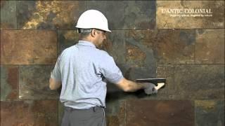 Укладка натурального камня(Обучающие видео, в котором показано, как правильно устанавливается натуральный камнь от L'Antic., 2012-08-22T06:49:07.000Z)