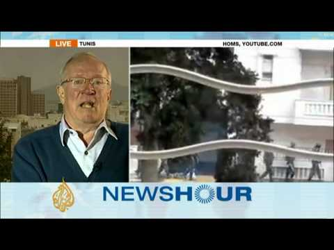 Journalist Robert Fisk: Arab League using war in Syria to attack Iran