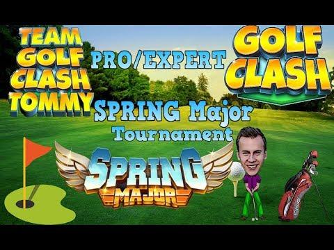 Golf Clash tips, Hole 9 - Par 5, Spring Major tournament - PRO/EXPERT, GUIDE/TUTORIAL
