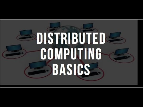 Distributed Computing Basics