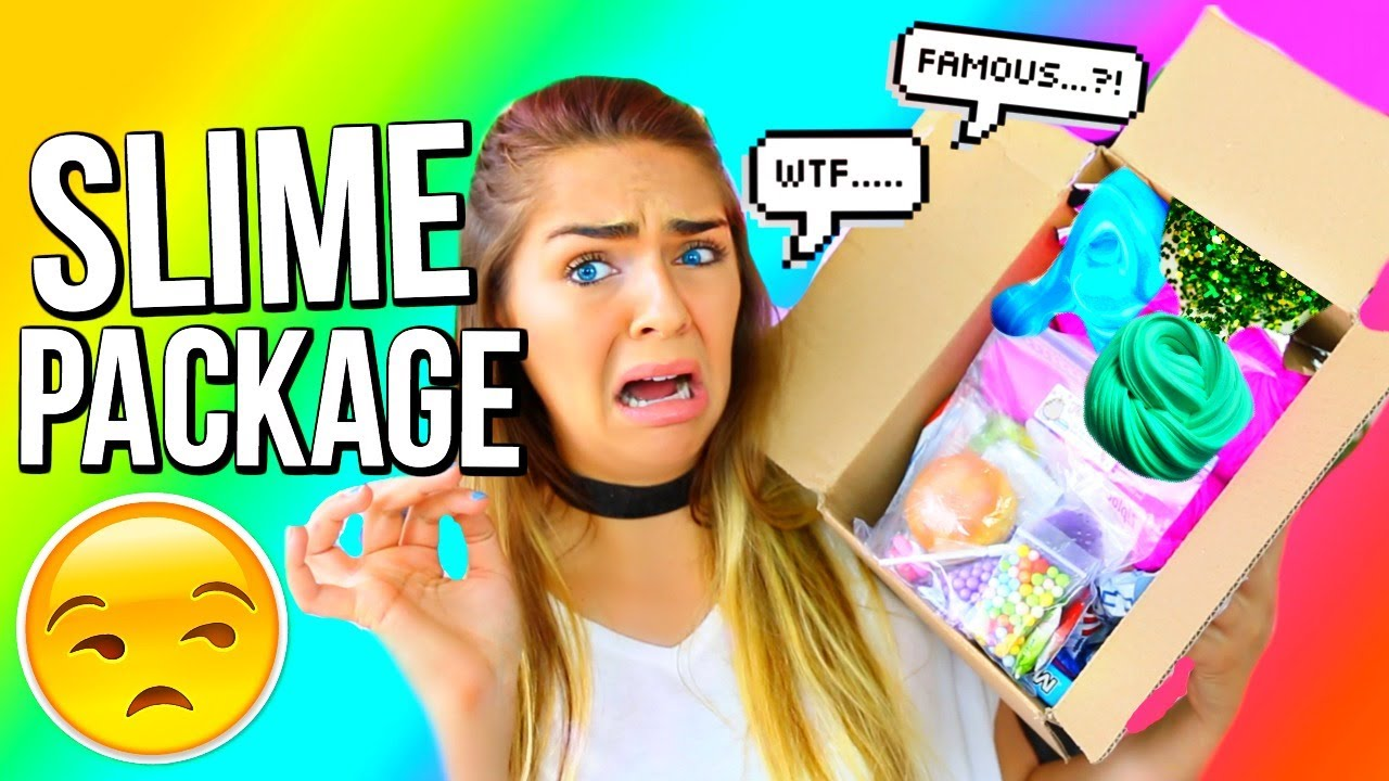 SLIME PACKAGE UNBOXING From FAMOUS Etsy Slime Shop! Mermaid Slimez Slime  Review!