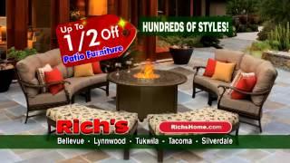Rich's Half-off Patio Furniture Sale