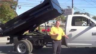 2016 RAM 5500 HD 11 Foot Contractor Dump Bed in Hendersonville NC