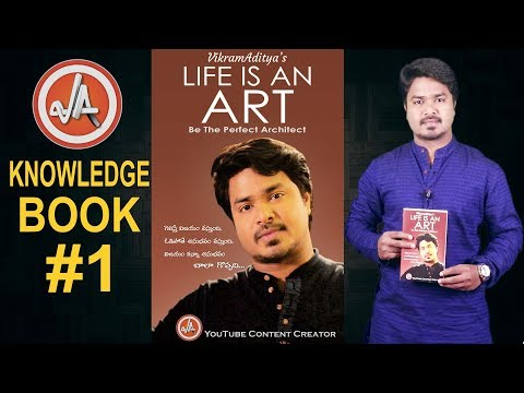 VikramAditya's LIFE IS AN ART - Be The Perfect Architect | My First Book | VikramAditya | EP#119