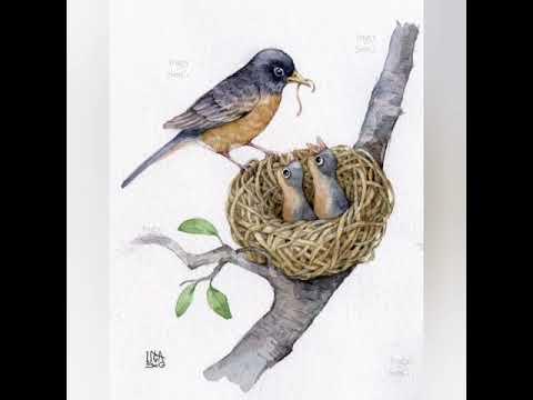 Художественно-эстетическое развитие. Птички - невелички ...