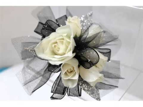 Ideas Of Corsage White Roses Romance Youtube