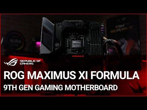 ROG Maximus XI Formula 9th Gen Gaming Motherboard