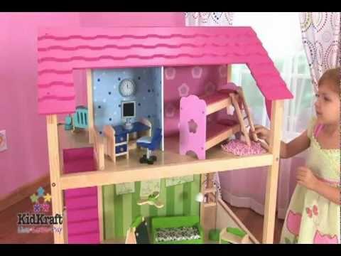 Juego de casitas de mu ecas so chic de kidkraft en eurekakids youtube - Casa munecas eurekakids ...