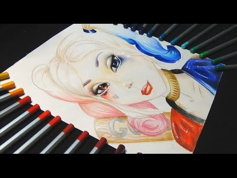 how to draw suicide squad harley quinn