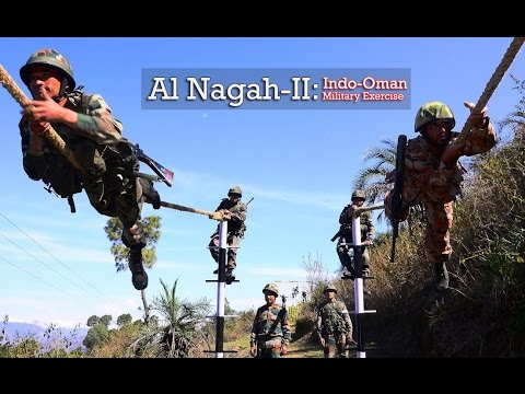 India Oman Armies In Action During Al Nagah-II 2017 Military Exercise at Bakloh