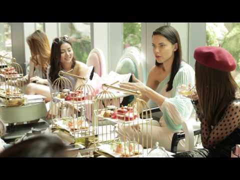 Victoria's Secret Angel Adriana Lima in Singapore