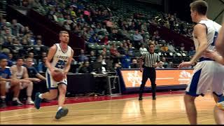 2017-18 GVSU Men&#39;s Basketball - Highlights vs. LSSU<