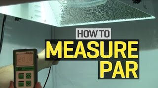 How To Use A Par Meter To Measure Light Levels In Your Grow Room