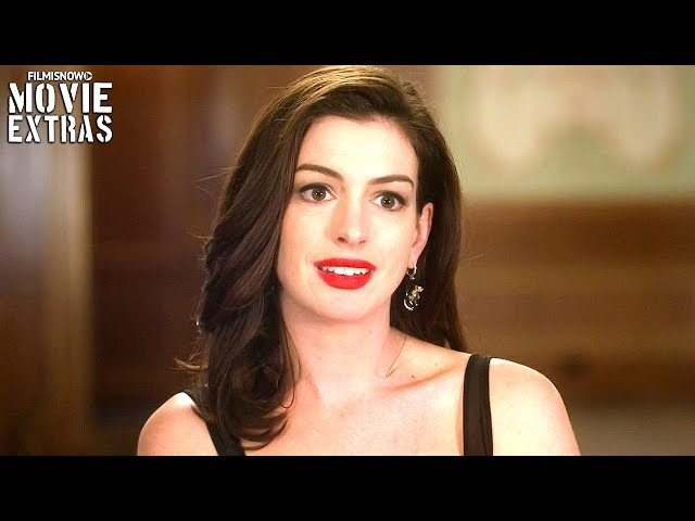 "OCEAN'S 8 | On-set visit with Anne Hathaway ""Daphne Kluger"""