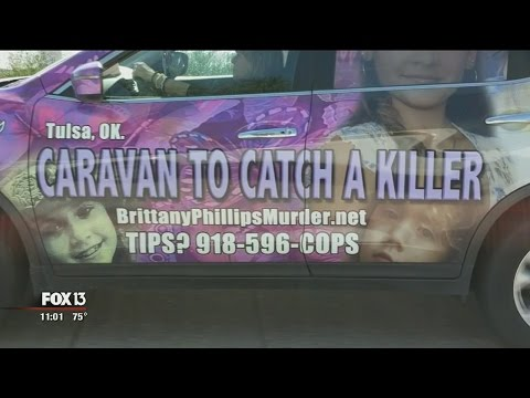 Mother's rolling billboard aims to catch daughter's killer