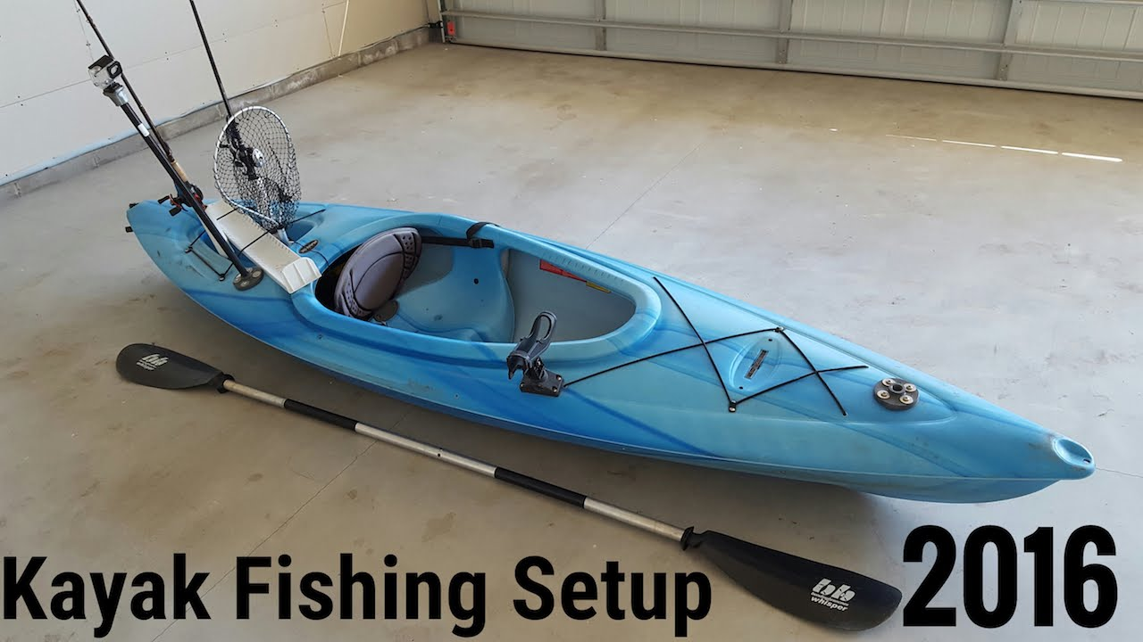 Sit In Kayak Modified For Fishing