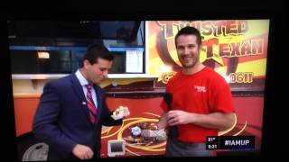 News 8 Daybreak Gets Visit From The Twisted Texas Food Truck