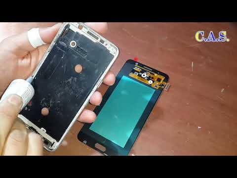 Samsung J7 J710FN Замена экрана, разборка, сборка