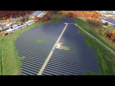 Greenwood Energy's solar project in Woburn, Massachusetts