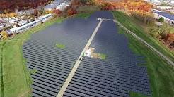 Greenwood Energy's solar project in Woburn, Massachusetts