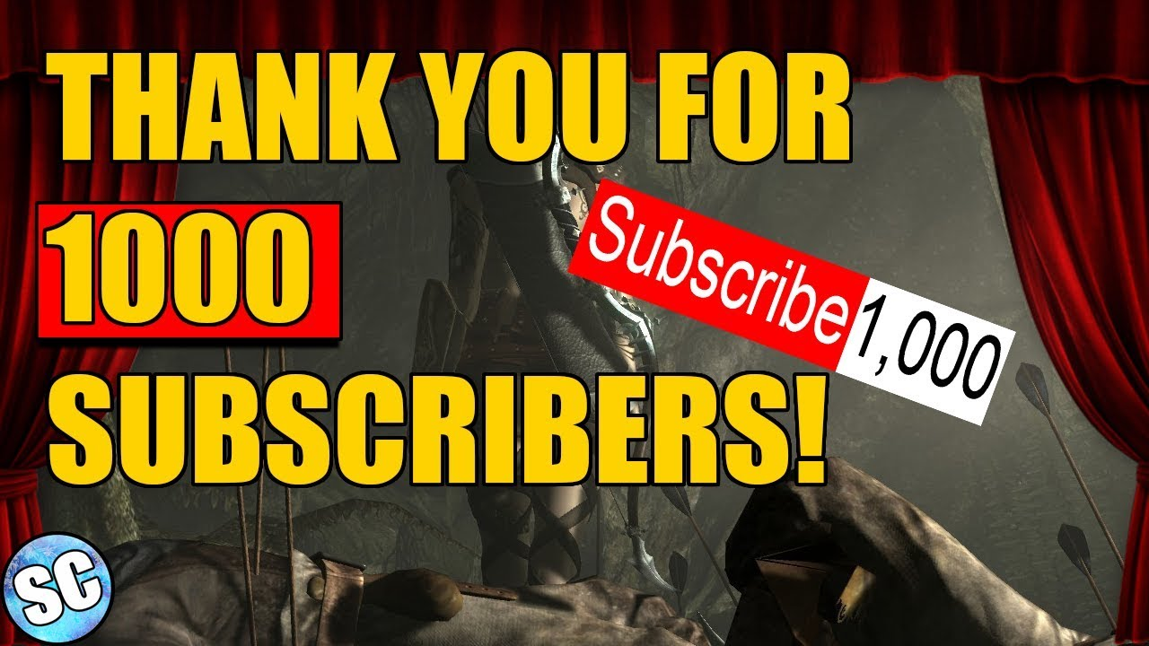 THANK YOU FOR 1000 SUBSCRIBER and a Review of the Last Year With Channel  Awards