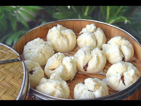 Char Siu Bao: Fluffy, Dim Sum Barbecue Pork Bao Recipe (叉烧包)