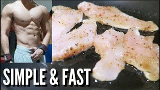 Chicken Recipe for LEAN BODY (SIMPLE &amp FAST)